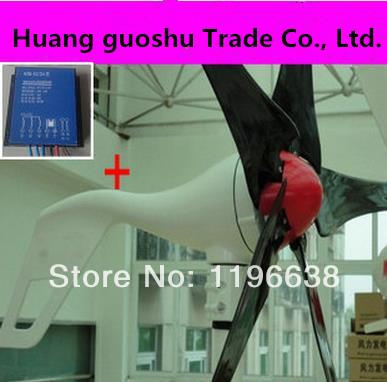 Versandkostenfrei!!! 600w max windenergieanlagen 5 Blattspreite Windenergie windkraft +600 max controller mit ce iso9001