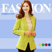 Vestidos Femininos Hot Sale Time-limited Suits For Women Cardigans 2014 Spring Women's Female Blazer Outerwear Long-sleeve Slim