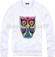 2014 New Brand lucky owl camouflage Men Women Loose Long Sleeve Hoody And Sweatshirt Cotton Hip Hop Sports Large yard hoodies