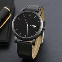 Genuine Leather strap Watch Men Casual Watch Brand Fashion Dailiy Water Resistant Quartz Wristwatch