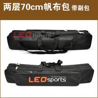 70cm 2 layers fishingbag,large multi-purpose bag fishing rod bag fishing tackle bag