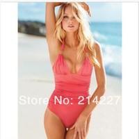 Five Solid Color Promotion Camisole Vest Tankini Women Swimwear Bikini Super Sexy Beach Swim Wear Swimsuits Beachwear Bathers