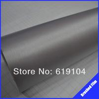ROHS certificate 1.52X0.6m Air free bubbles light grey brush aluminum film car protection film