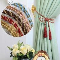Wholesale Curtain Accessories Rope Curtain Tieback Curtain Tassel 10pcs/lot Eight Colors