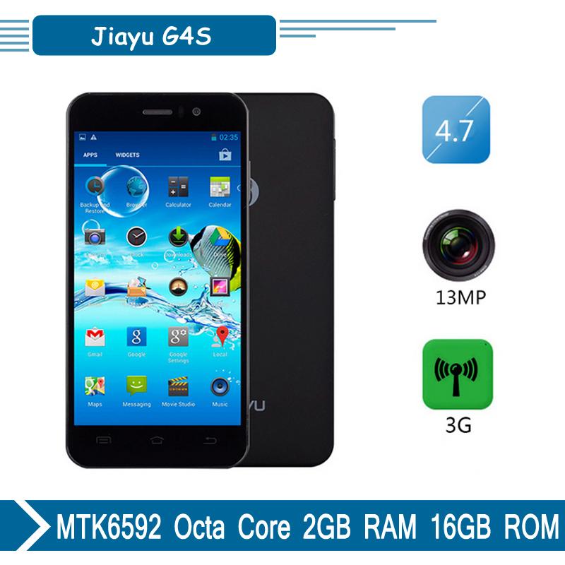 "Jiayu G4S Smartphone Original do telefone móvel Android 4.2 MTK6592 Octa Core 4.7 "" IPS WCDMA GPS 3 G telefones celulares 2 G 16 G(China (Mainland))"