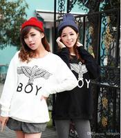 2013 New Women/Men boy london 3D loose Long SLeeve Punk eagle printed Hoodies Sweatshirts Galaxy sweaters Pullover Tops