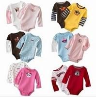 Carters long baby clothing girl boy tuxedo original clothing set wholesale newborn baby girl boy bodysuit