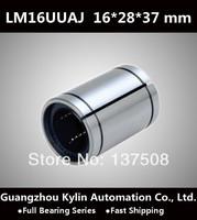 On Sale! 10 pcs LM16UUAJ Linear Bearing 16x28x37 mm,free shipping 16mm Adjustable type Linear Ball Bearing