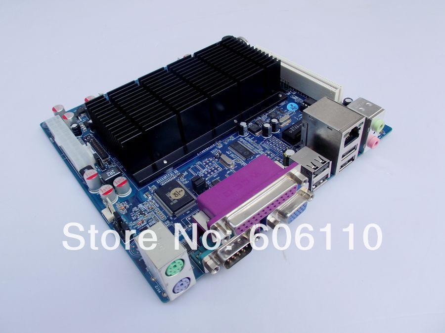 Mini-itx motherboard serial 2 com atom d425 itx-m42x21d fanless ip25x4(China (Mainland))