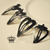 New 2014 Black  Multi- Colored Candy Hairpins Hair Jewelry