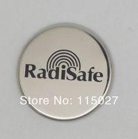 2014 New Arrival Stainless steel RadiSafe sticker luxury phone sticker  EMF HARMONIZER  HEAT REDUCWER cellphone sticker mobile