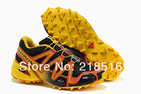 2014 new brand Great Quality Salomon speedcross 3 Men Running shoes Sport Running Shoes Men's Sneakers EUR40-46 Hot Selling
