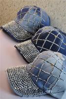 2014 Handmade rhinestone baseball cap female diamond outdoor benn sports sunbonnet women hat female caps free shipping