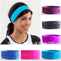 NWT Super quality  Assorted color Cheap LULU yoga headwear Yogaheadbands online,stretch sport / fitness headbands, candy colors.