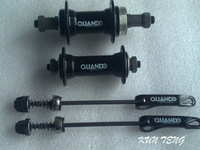 Quando highway bicycle quantum v card quick release hub front and rear