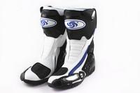 Free ship motorcycle boots SPEED pro-biker Racing Boots,Motocross Boots,Motorbike boots SIZE: 40/41/42/43/44/45  white