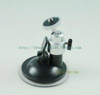 High quality small driving recorder mount rotation aluminum alloy connector camera car mount suction cup