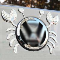 3d three-dimensional stickers vw crab personality car sticker refit