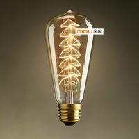 Lovely Bulbs Vintage Christmas Tree Edison Light bulb Lighting DIY Handmade Bulbs,Best Decoration For Living Room Home