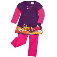 new 2014 Peppa pig girls clothing sets baby girl's casual pepe pig summer t-shirt+pants kids clothes sets  N026#