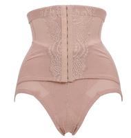 control panties High waist cincher corset panties body shaper for womenwear underwear  Zipper Lace slim shaper panties