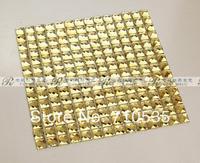 [Colorful Mosaic] KTV Hotel Hall Gold Dimond Mosaic Tile JZ0005-1