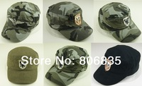 Unisex  Army Soldier menwomen Military cap,adjustable baseball caps,Jungle camouflage Visor,outdoor travel sun hat freeshipping