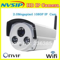 Wifi IP camera 1080p 2mp outdoor waterproof infrared onvif home CCTV surveillance camera