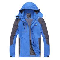 Men's Waterproof Hiking Hoodies Windbreaker Ski Jackets Camping Wear Summit Series Hoody Coat Ski Outerwear