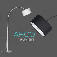 Brief modern marble fishing lamp floor lighting fashion living room lights bedroom lamp floor lamps