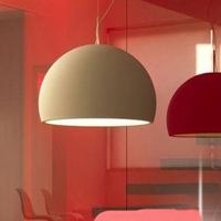 Half round ball pendant light modern brief fashion lighting lamps aluminum bar pendant lamp