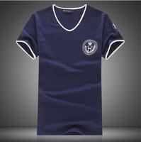 2014 new Tops & Tees   fashion British style torx flag pattern o-neck casual t-shirt male short-sleeve ,Men's t shirt ,size m-xl