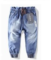 Retail! fashion children 's jeans cotton Denim kids jeans girls pants baby trousers