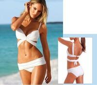 2014 new arrival hot bikini lady swimwear women swimsuit on sale black and white