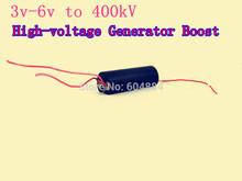 2014 New 1Pcs DC 3v-6v to 400kV 400000V Boost Step-up Power Module High-voltage Generator Free Shipping(Hong Kong)