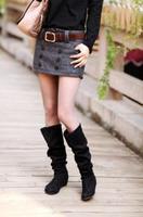 2014 New Womens fashion sexy mini skirts with a high waist  female club wear plus size ladies pencil skirt Free shipping KR576