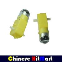Hot Sale ! 2PCS Tracing biaxial Double Axis 1:48 Reduction motor TT Motor Robot arduino Smart Car Micro Gear Motor 12v #RR01
