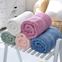 shipping free! Bamboo fibre thickening bath towel baby adult bath towel thickening soft absorbent  hot sell!