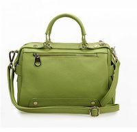 NEW Fashion Women Real Cow Leather Handbag Tote Shoulder Handbag 0431