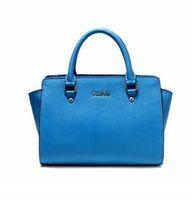 NEW Fashion Women Real Cow Leather Handbag Tote Shoulder Handbag 0201