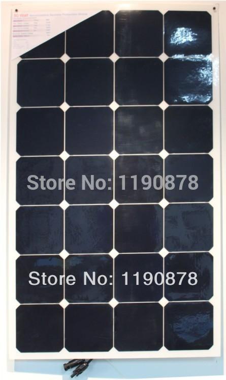Semi Flexible Solar Panel Mono 80w(China (Mainland))