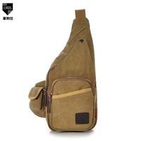 2014 new Canvas chest bag 8 colors shoulder bag men Messenger bag man casual canvas bag women multifunction Korean wave packet
