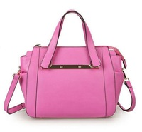 NEW Fashion Women Real Cow Leather Handbag Tote Shoulder Handbag 0439