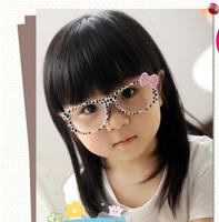 wholesale Kids fashion eyeglasses frames /hello kitty glasses children's glasses no lens 2014hot sale glasses