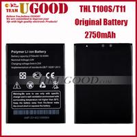 Original Mobile Phone Battery 2750mAh For THL T100S T11 Cell Phones