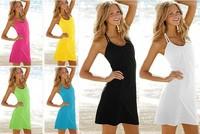 women dress skirt sexy bikini beachwear free shipping swimwear cover up style 2013 new summer gift fit slim fashion brand