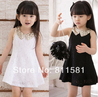 Hot Sale 2014 Summer New Children Clothing Baby Girls Clothes Girl Dress Kids Tutu Dress child Children Dress Free Shipping