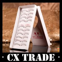 Free shipping New 200PCS/Box Eyelashes Thick Long False Eyelash Eye Lashes Voluminous Makeup #8176