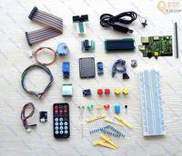 Raspberry Pi advance Kit T-Cobbler Lcd GPIO cable BMP085 PL2303 DS18B20 SD card