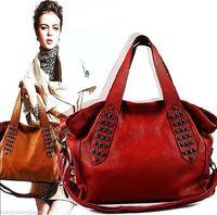 NEW NEW Top Real Genuine Cowhide Leather Women Handbag Tote Hobo Shoulder Cross Bag